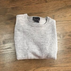 Boy's crew neck wool sweater